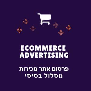פרסום אתר מכירות מסלול בסיסי